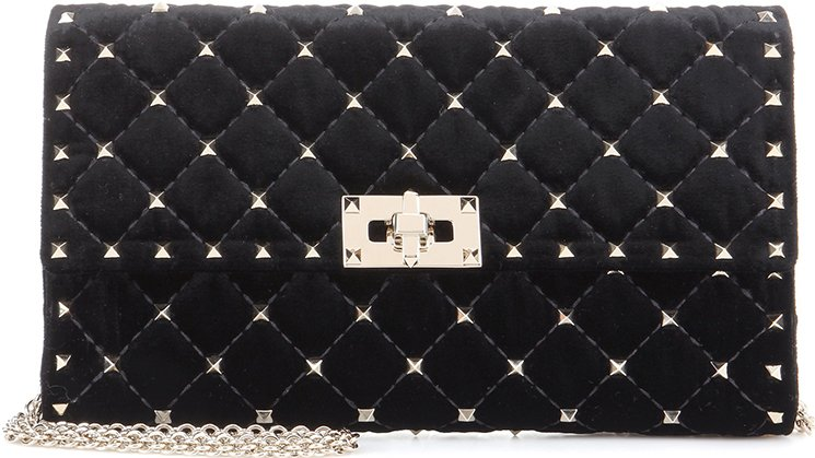 Valentino-Rockstud-Spike-Clutch-with-Chain-Bag-2