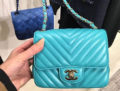 Chanel Chevron Mini Classic Flap Bag
