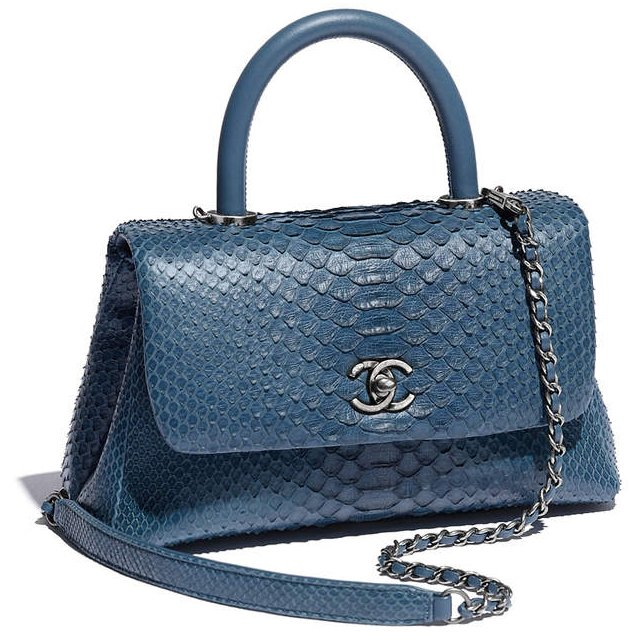 Chanel-Coco-Handle-Python-Bag-2