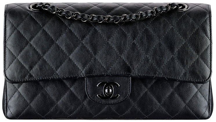 67368a5502b7 Chanel So Black Classic Flap Bag | Bragmybag