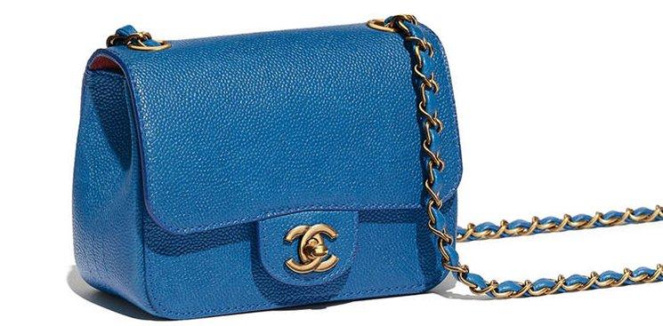 c85268a8bd08 Chanel Mini Square Pure Classic Flap Bag | Bragmybag