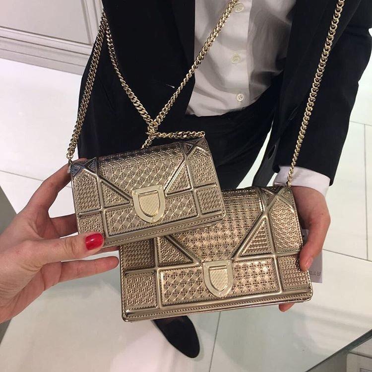 Diorama Metallic Micro Cannage Bag – Bragmybag 0e6a50c1ff08a