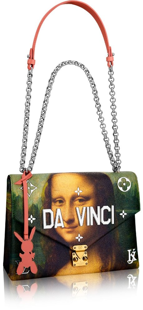 Louis-Vuitton-Da-Vinci-Chain-Bag