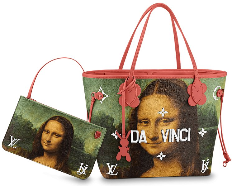 Louis-Vuitton-Da-Vinci-Neverfull-Bag-Red