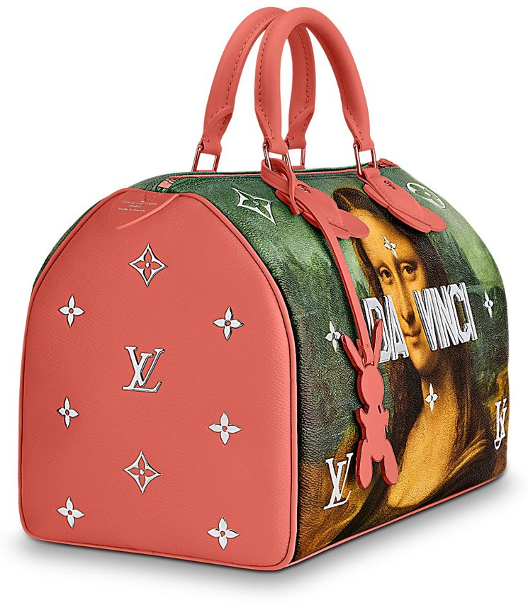 Louis-Vuitton-Da-Vinci-Speedy-Bag-2