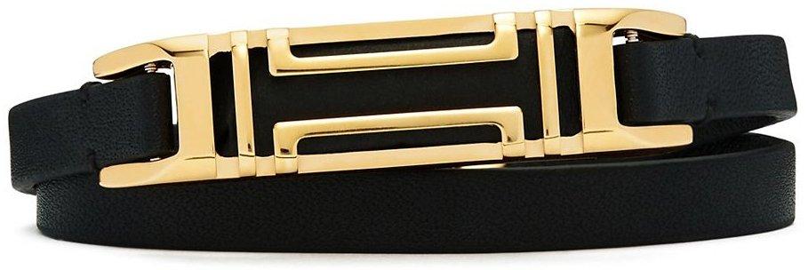 Tory-Burch-Fitbit-double-wrap-bracelet-black
