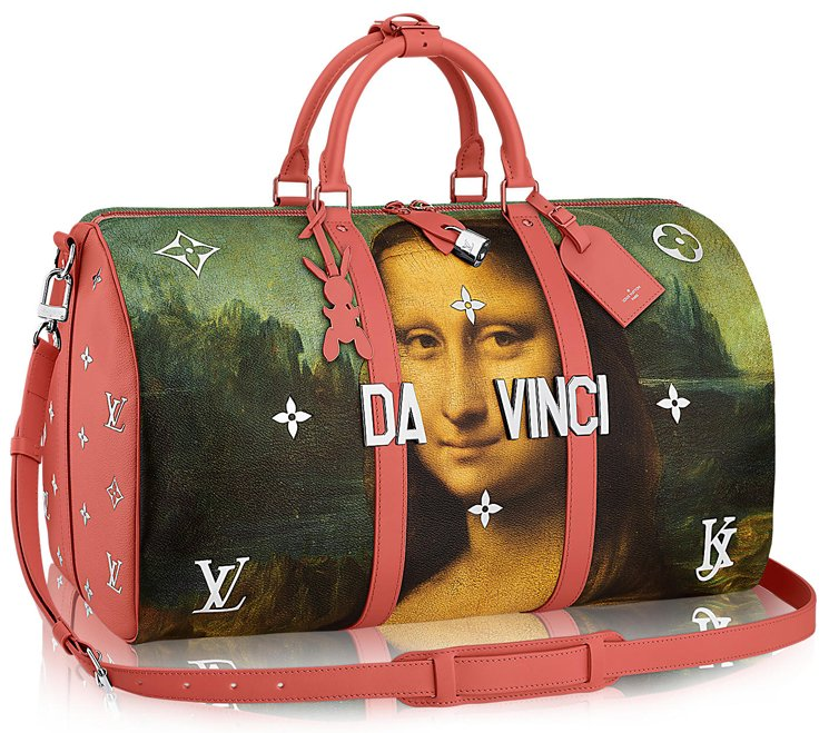 louis-vuitton-keepall-Da-Vinci-Bag