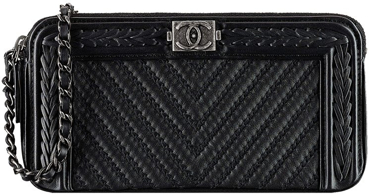 Boy-Chanel-Chevron-Braided-Clutch-with-Chain