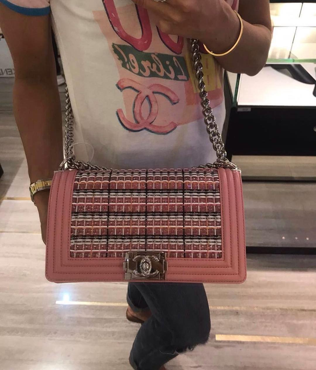 6a82e26bbc58 Boy Chanel PVC Thread Bag | Bragmybag
