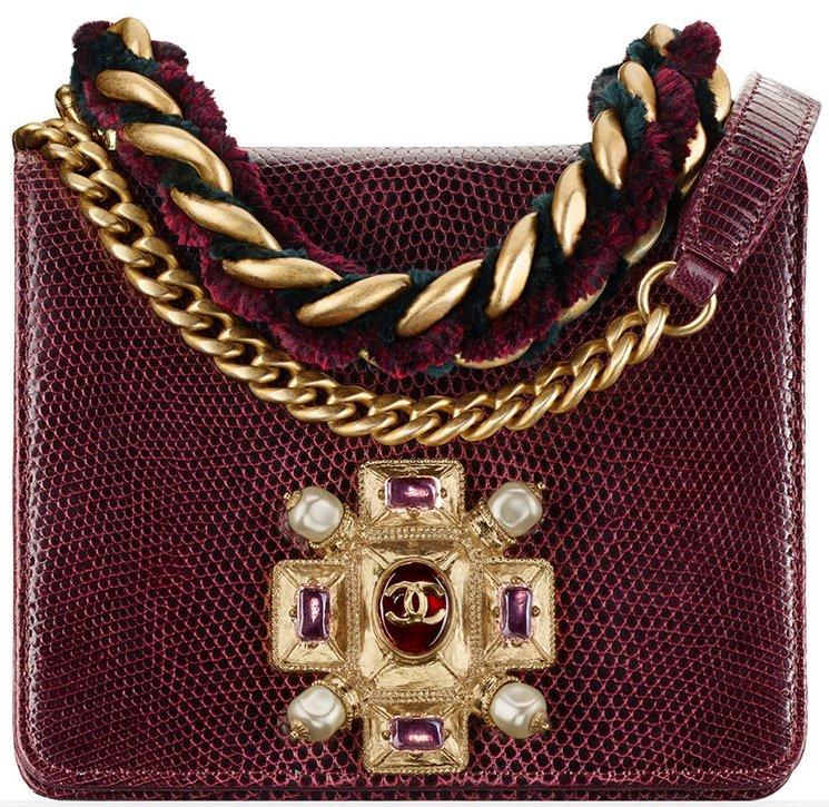 212d8be5eaee ... Python Boy Handle Flap Small Bag Chanel Pre Fall 2016 Seasonal Bag  Collection Bragmybag