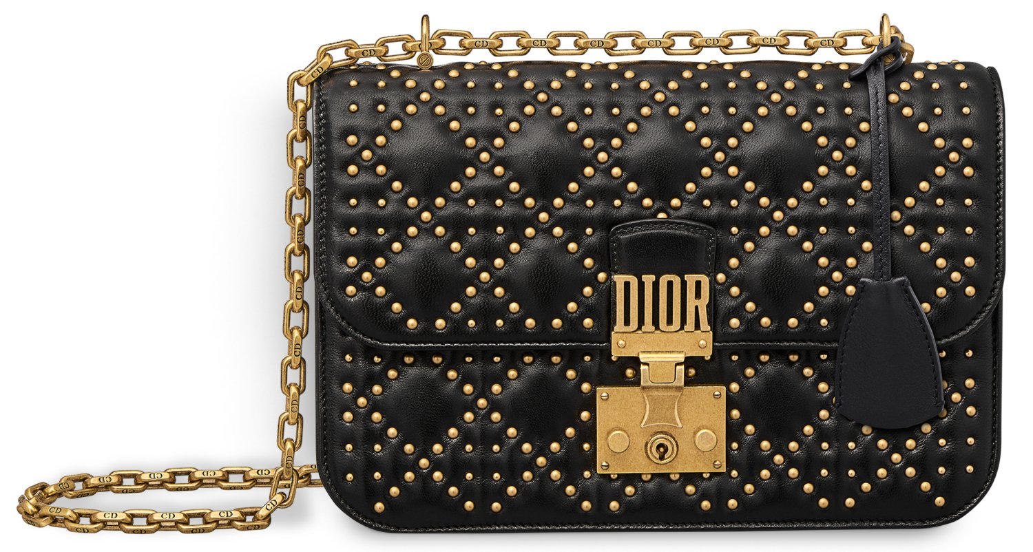 DiorAddict-Bag-Black-studs
