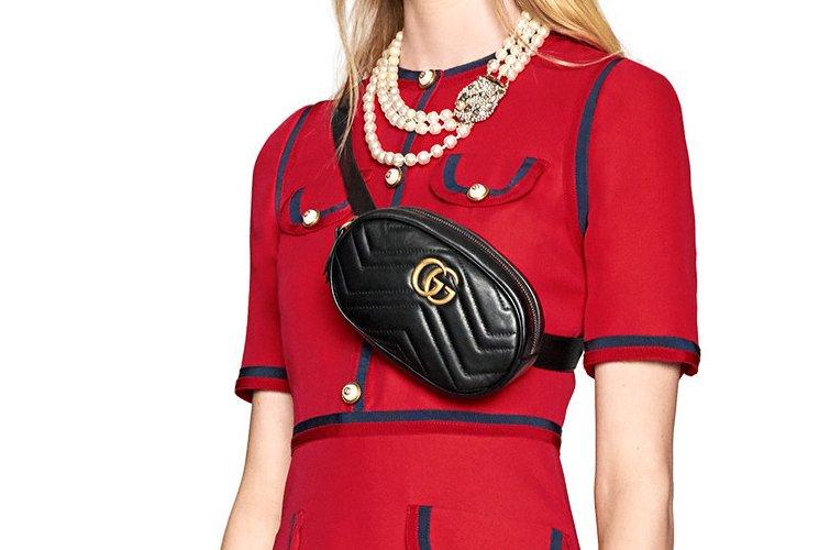 8e19dc67ffa Gucci-GG-Marmont-Belt-Bag-9