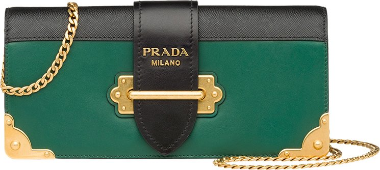 Prada-Cahier-Long-Clutch-with-Chain-2