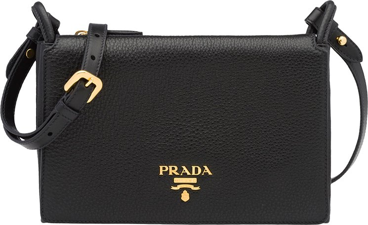 Prada-Leather-Shoulder-Bag
