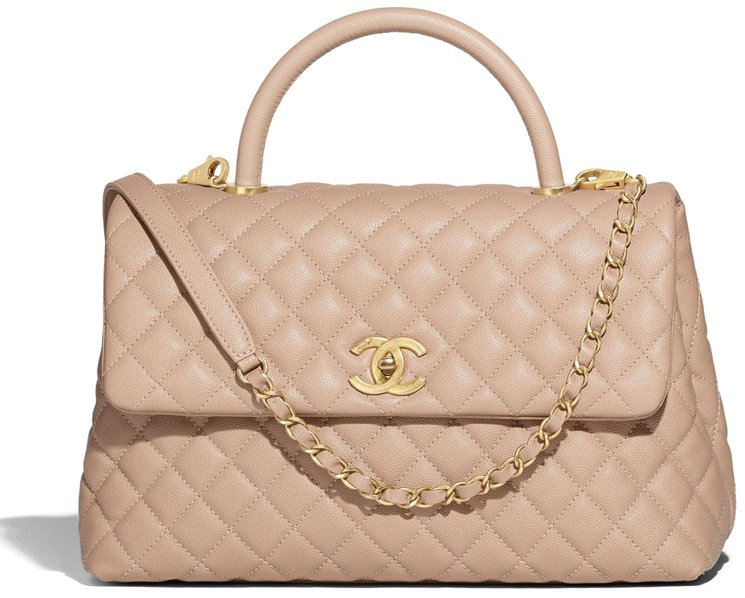 5d38cdc2fed9 Chanel Coco Handle Bag Prices