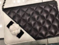Chanel Camellia Edge Quilted Bag