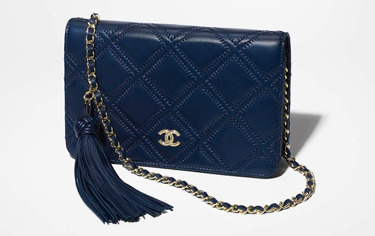 Chanel Stitched Quilted WOC with Tassel | Bragmybag : chanel quilted woc - Adamdwight.com
