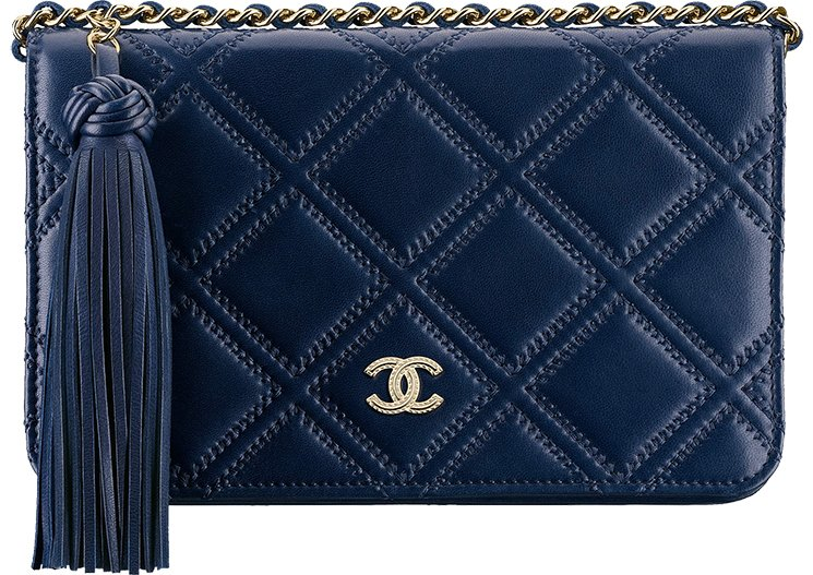 fde5d60cd7c62b Chanel Stitched Quilted WOC with Tassel | Bragmybag