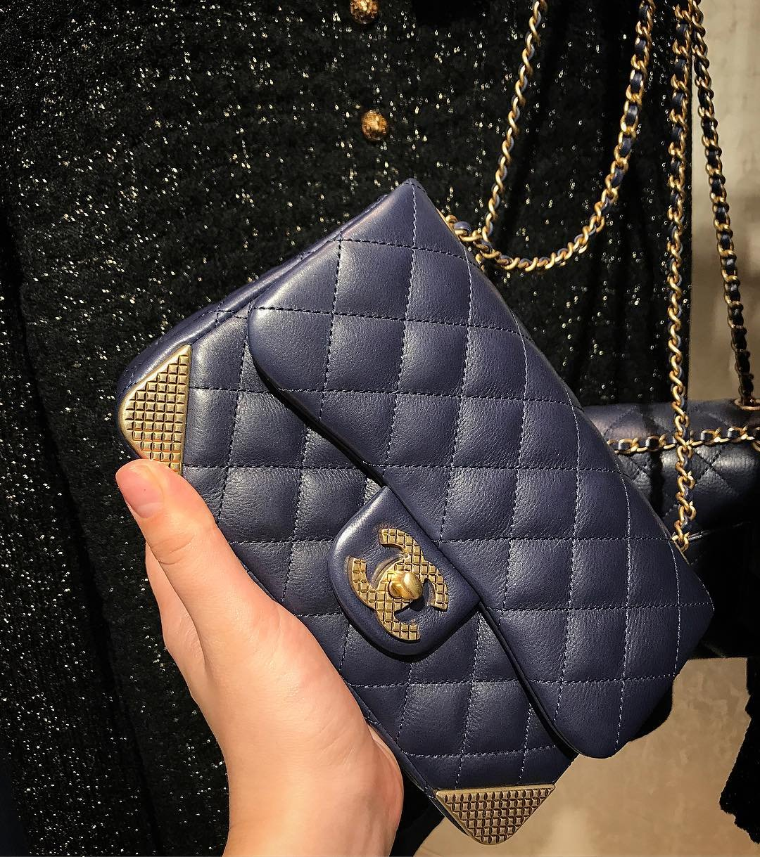 Chanel-Studded-Corners-Flap-Bag-3