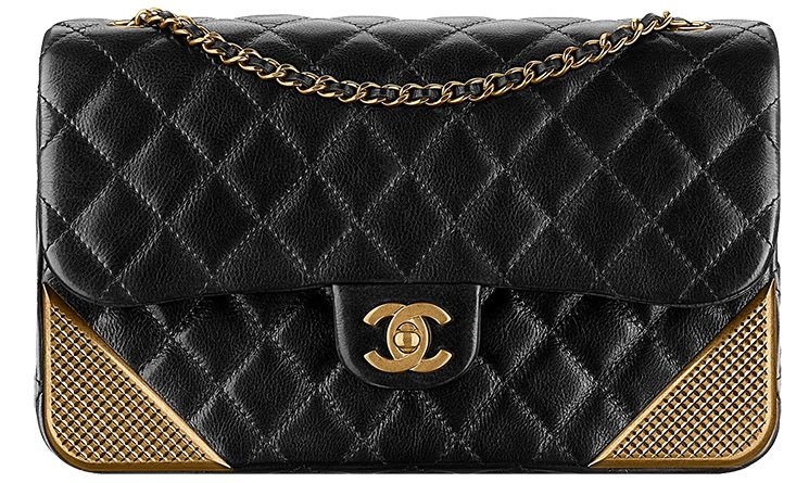 Chanel-Studded-Corners-Flap-Bag-4