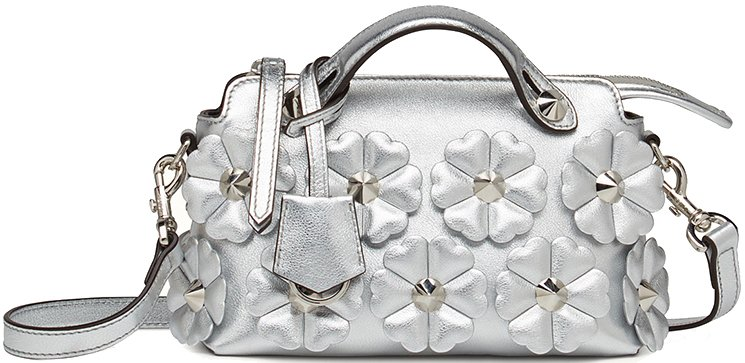 181300de9d6b Fendi Silver Flower By The Way Bag – Bragmybag