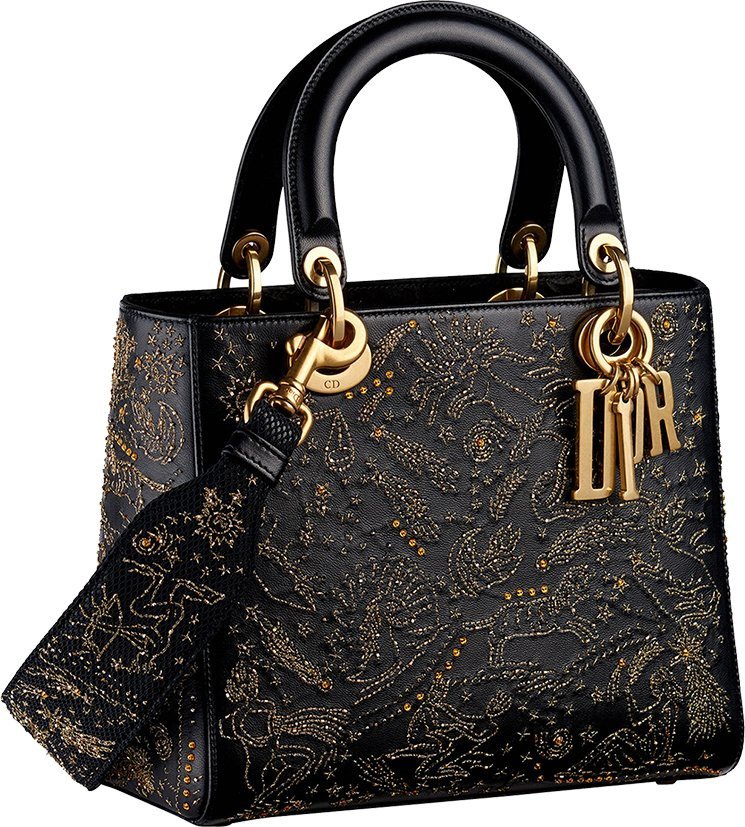Limited Edition Lady Dior I Feel Blue Bag Collection ...