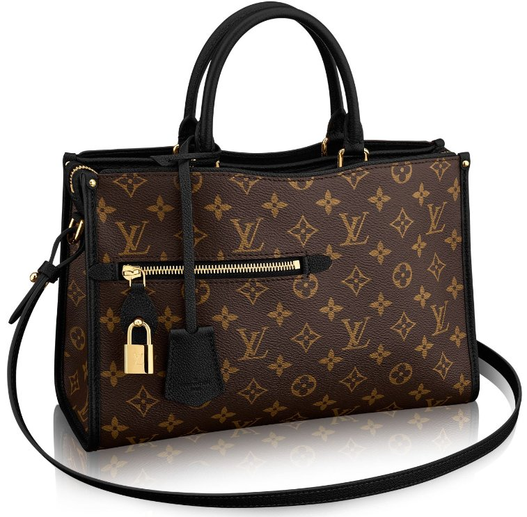 Louis-Vuitton-Popincourt-Bag-zwart