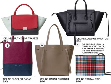 de3c448675 Celine Fall 2017 Classic Bag Collection Part 2