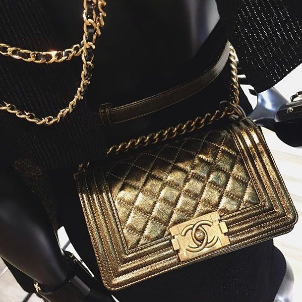 Boy-Chanel-Cracked-Metallic-Bag-3