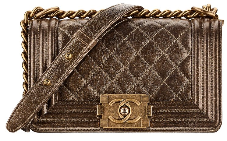 Boy-Chanel-Cracked-Metallic-Bag