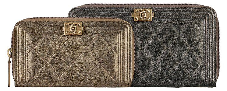 Boy-Chanel-Metallic-Zipped-Wallets