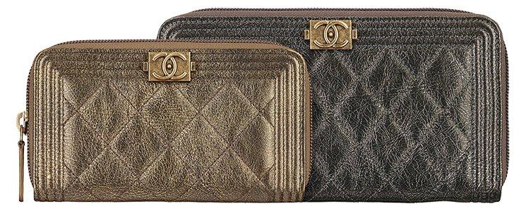 Boy-Chanel-Metallic-Zipped-Wallets