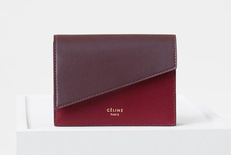 Celine-Diagonal-Card-Holders