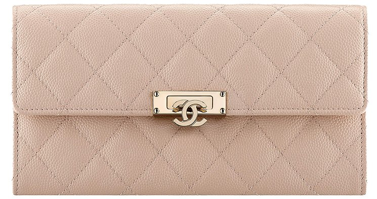 Chanel-Golden-Class-Double-CC-Long-Wallet