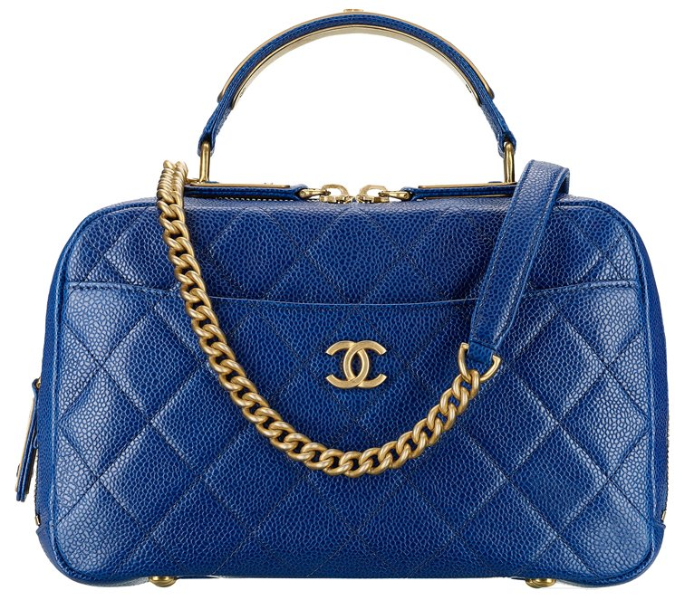 Chanel-Grained-Calfskin-Bowling-Bag-44