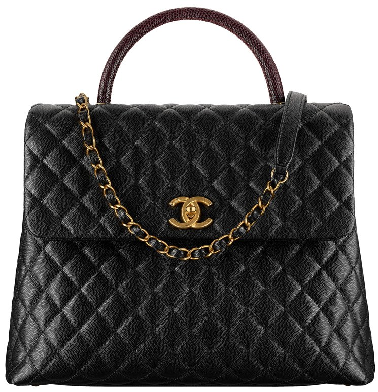 Chanel-Large-Coco-Handle-Bag-with-Lizard-Handle-31