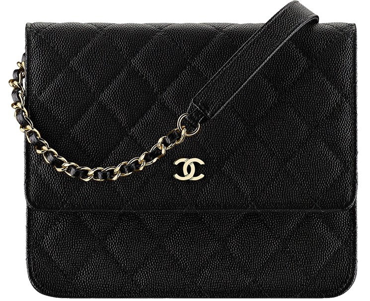 8ec0ad90115a Chanel Classic Square WOC. Chanel-Long-Classic-Quilted-Wallet-On-Chain