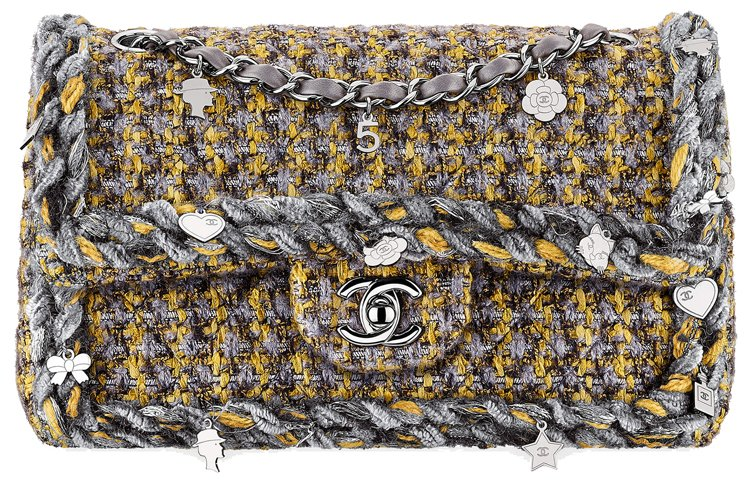 Chanel-Multicolor-Small-Tweed-Flap-Classic-Flap-Bag-10