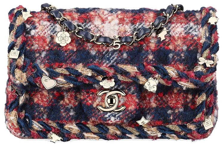 Chanel-New-Mini-Classic-Bag-Tweed-4