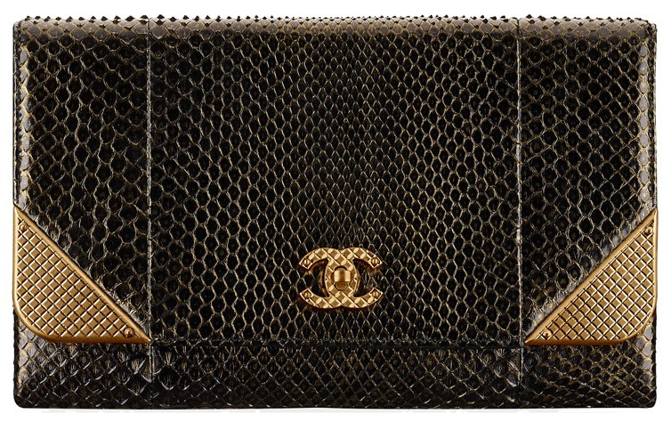 Chanel-Python-Studded-Edge-Clutch-with-Chain-23