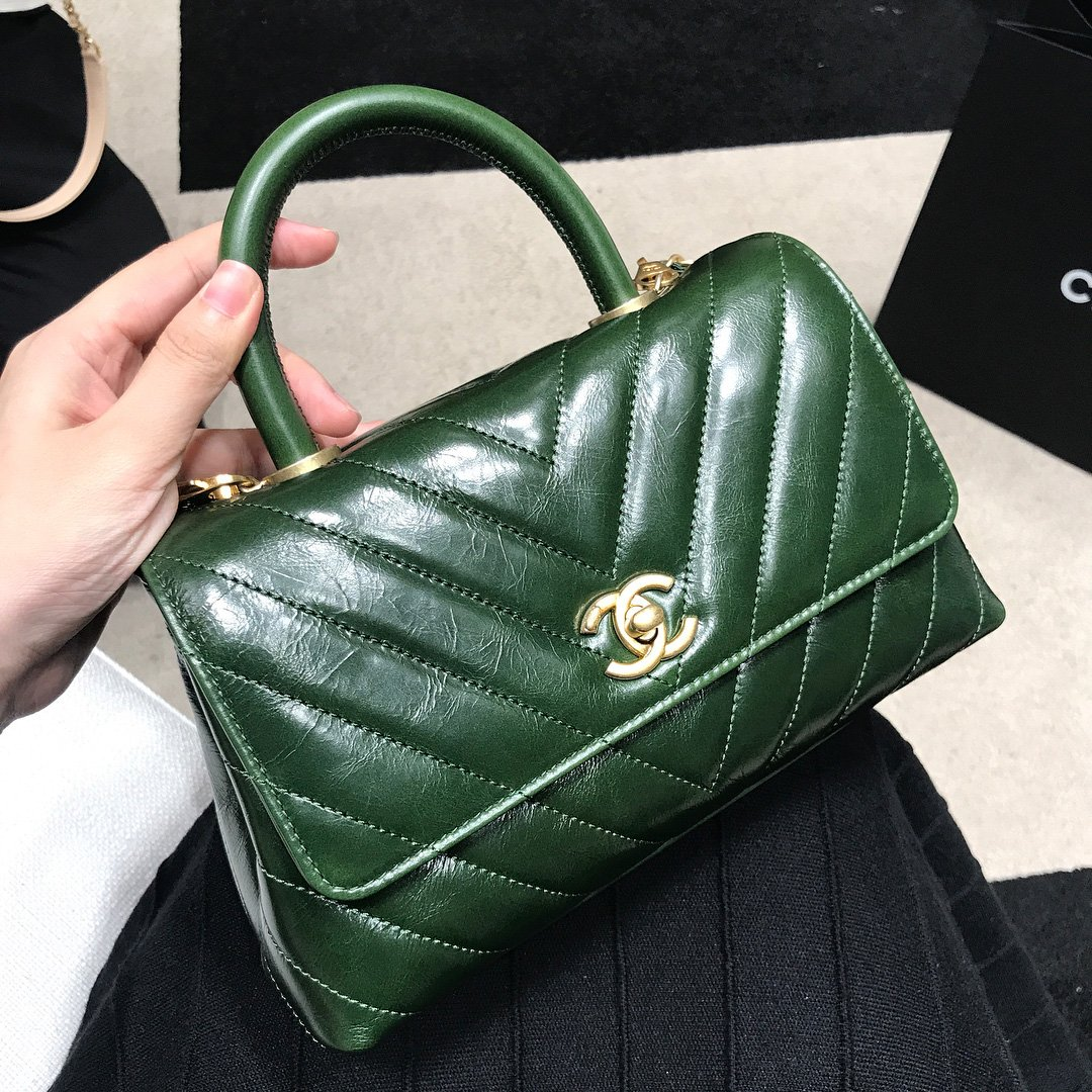 c86cc7bcdcaa Chanel Chevron Coco Handle Bag Price | Stanford Center for ...