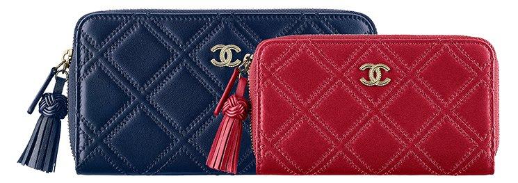 Chanel-Stitch-Quilted-Zip-Around-Wallets-with-Tassel