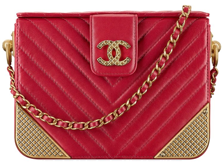 Chanel-Studded-Edges-Minaudiere-with-Chain-26