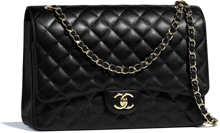 3eece68e9658 Chanel Maxi Classic Flap Bag Prices