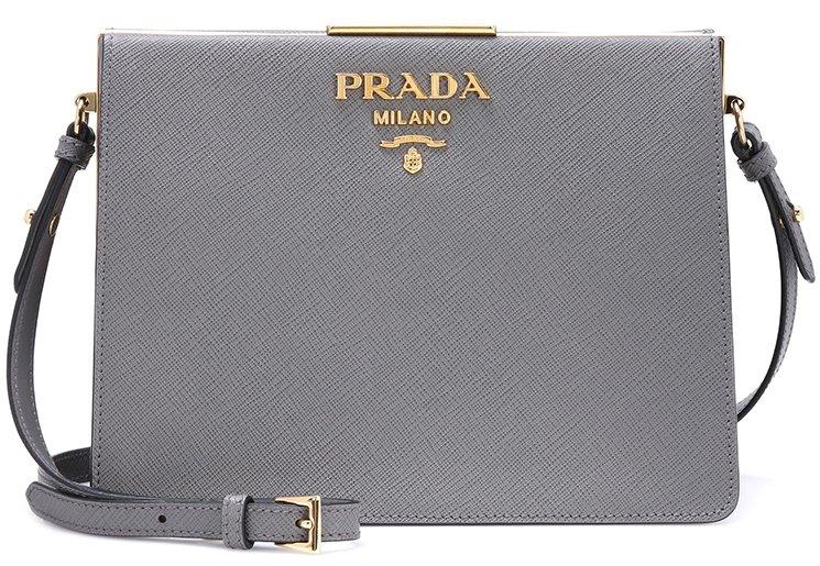 a4f9bc260f34 Exclusive-Prada-Saffiano-Shoulder-Bag-For-MyTheresa-2. Prada-light-frame-bag