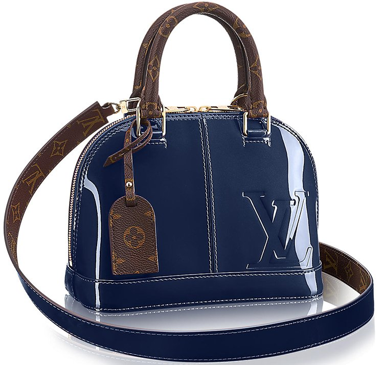 6cd7863d58bb Louis Vuitton Vernis Lisse Alma Bag