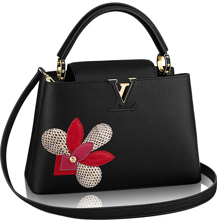 Louis-Vuitton-Iris-Blossom-Capucines-Bag