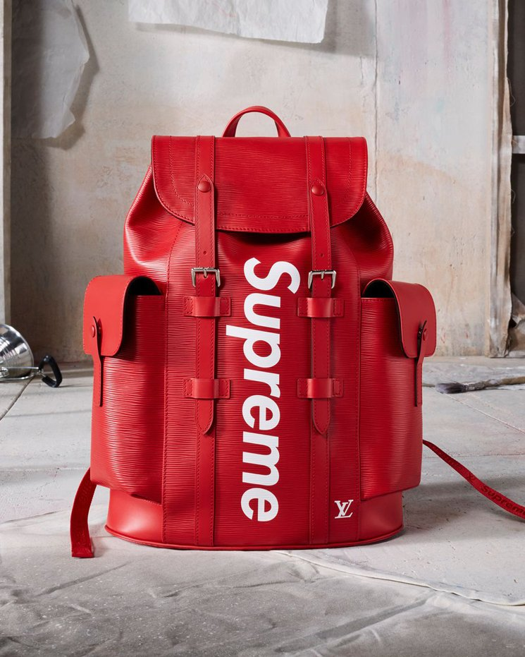 Louis-vuitton-supreme-Christopher backpack