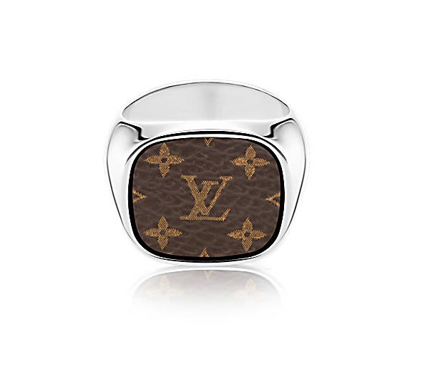 Louis-vuitton-supreme-For Gentlemen Signet Ring