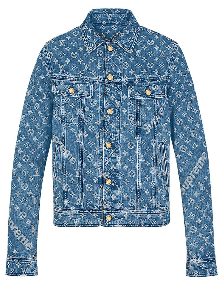 louis-vuitton-MONOGRAM DENIM JACKET